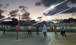 كلية رياض الأطفال تقيم يوم رياضى بمركز شباب سموحة